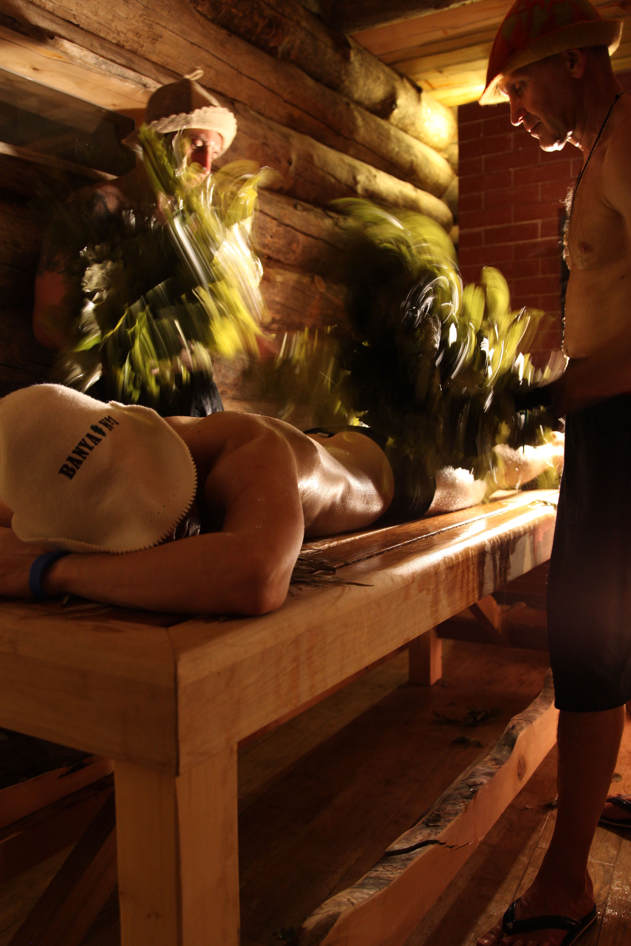 Parenie is a traditional and invigorating thermal treatment which involves a leafy bundle of birch, oak or eucalyptus twigs (called venik) being brushed over your body.