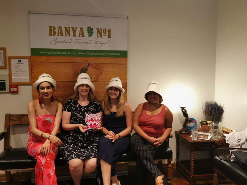 Girls in Banya No.1