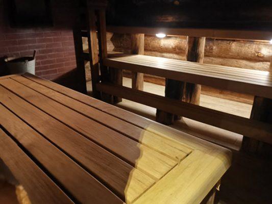 Taiga Steam room