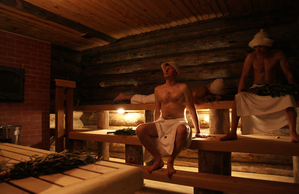 Taiga Steam Room
