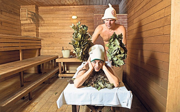 The Telegraph visited Russian banya