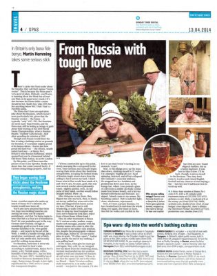 The Sunday Times banya review
