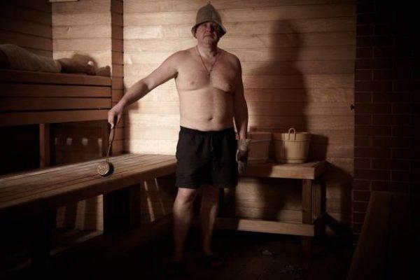 Russian Spa Steam room