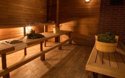 Russian Banya Steam Room