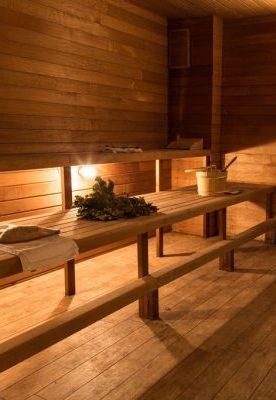 Russian steam sauna