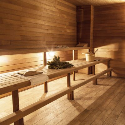 Banya No.1 Steam room