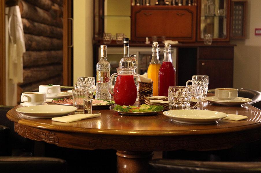 Taiga dining area