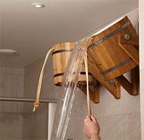 Bucket Showers