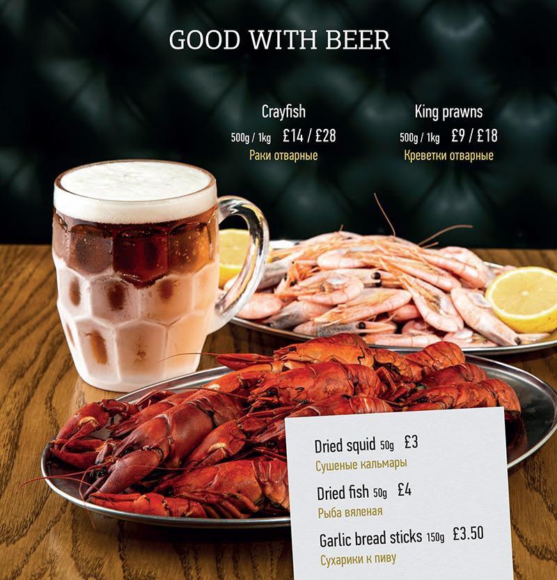 Crayfish & Beer