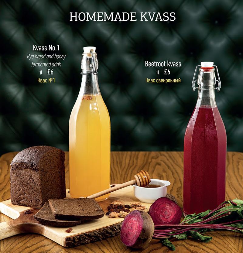 Russian kvass