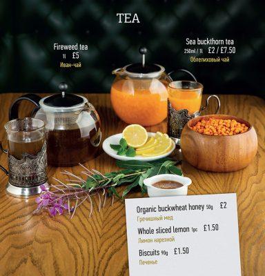 Fireweed tea