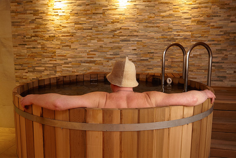 Cold plunge pool