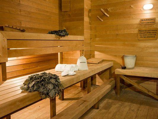 Banya steam room