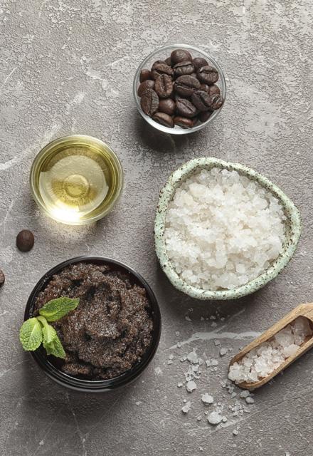 Honey & Salt or Coffee Scrub