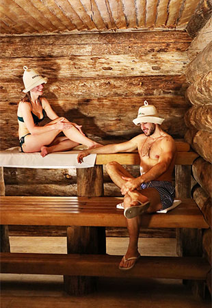 Spa experience for couple