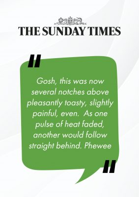 The Sunday times about Banya No.1